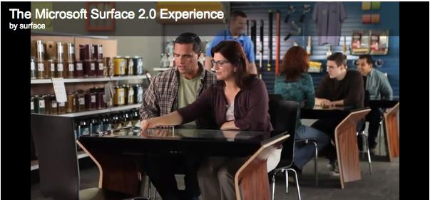Surface 2.0 – auf Basis von Windows 7 – ab Frühling 2012 von Samsung