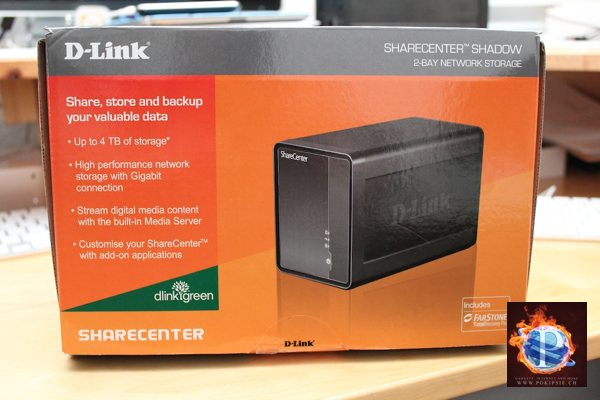 D-Link NAS «ShareCenter Shadow DNS-325» im Test