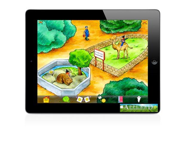 Hexe Huckla Zaubereien im Zoo App