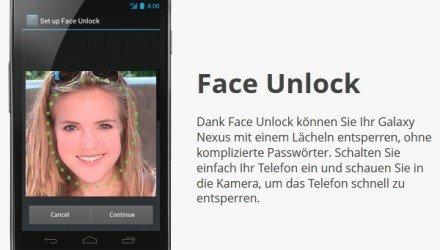 Ice Cream Sandwich - «Face Unlock»