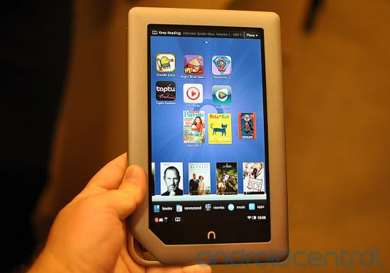 Barnes & Noble Nook – 7″ Tablet für $ 249.-