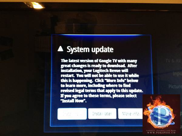 Google TV bekommt Update