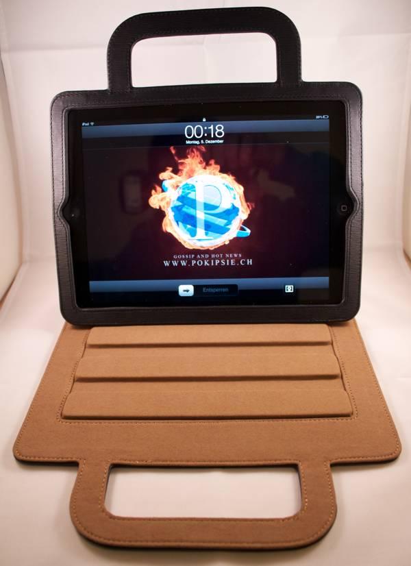 Luxa2 Rimini Stand Case - iPad 2 Taschen-Ständer