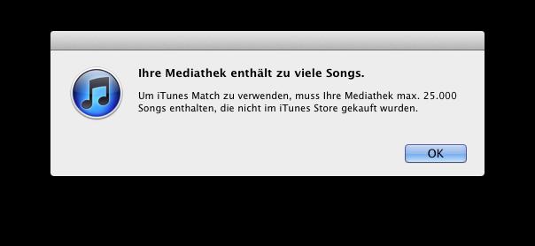 iTunes Match nun doch auch schon in Europa angekommen