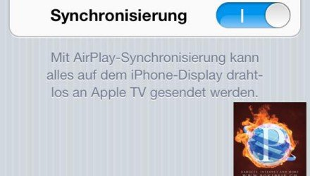 iPhone/iPad Kamera auf dem TV stremmen - AirPlay