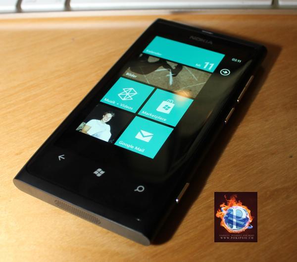 NOKIA Lumia 800 – Neustart mit Windows Phone 7.5 Mango