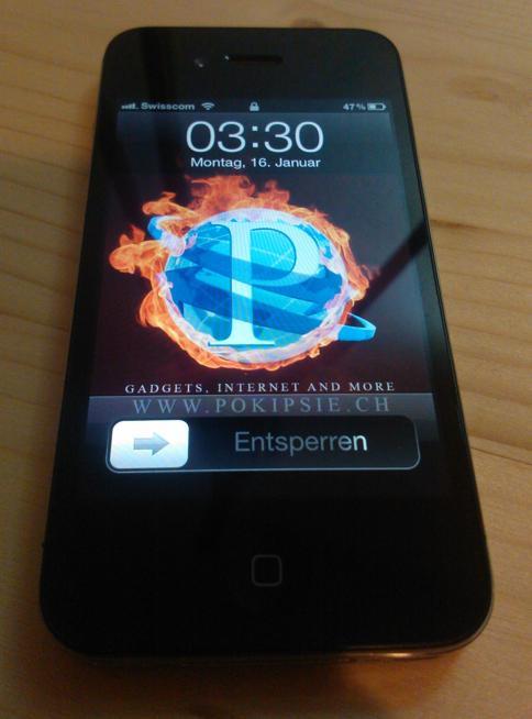 NOKIA Lumia 800 Testbild