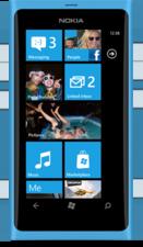 NOKIA Lumia 800 Produkbild