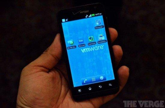 VMWare auf dem Smartphone