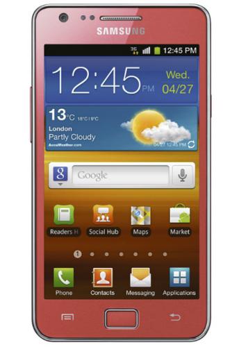 Pinkiges Samsung Galaxy S2 erhältlich zum Valentinstag