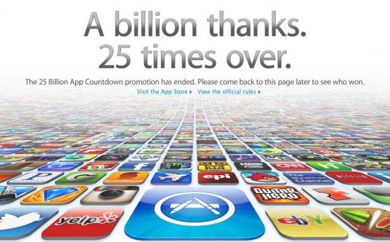 25 Milliarden Downloads im App Store auf OS X