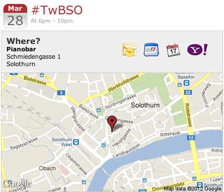 #TwBSO im Märzen 28. März 2012