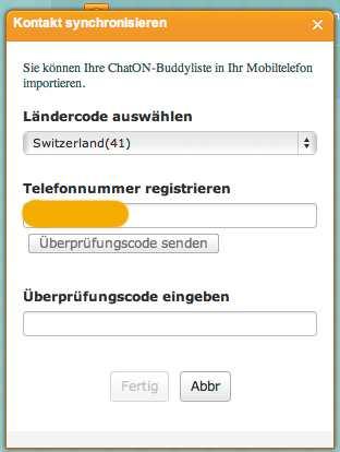 Web «ChatON» von Samsung nun auch als WebApplikation