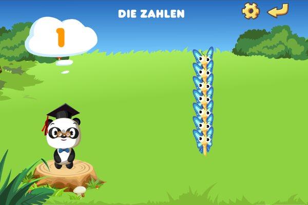 Dr. Panda - Lernspiel für Vorschulkinder App