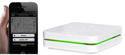 «playGo» AirPlay und DLNA Share Center im Kickstarter Projekt