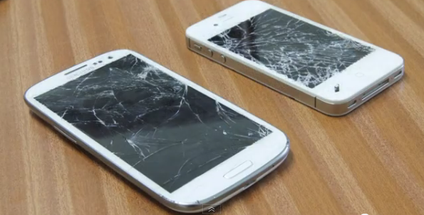 SGSIII vs. iPhone 4S - der Fall-Test - Video