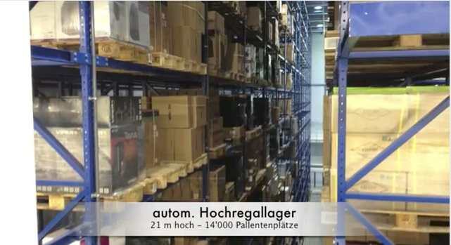 Brack.ch neues Logistikcenter in Willisau – Video