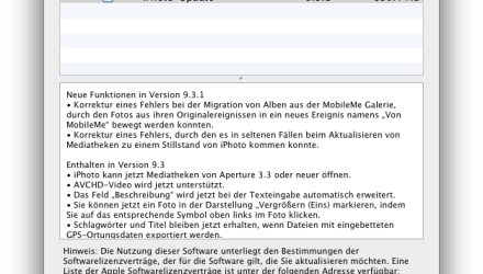 Update iPhone 9.3.1