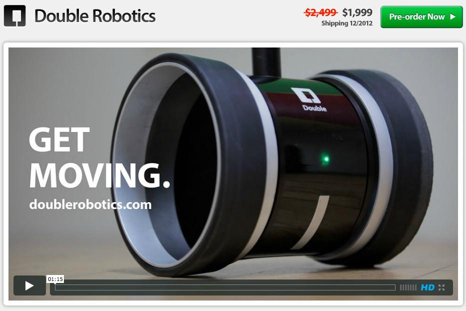Double Robotics - Virtuelle Vertretung