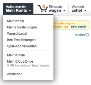 Amazon Cloud Drive ist gestartet - 5 GB kostenfreier Speicherplatz
