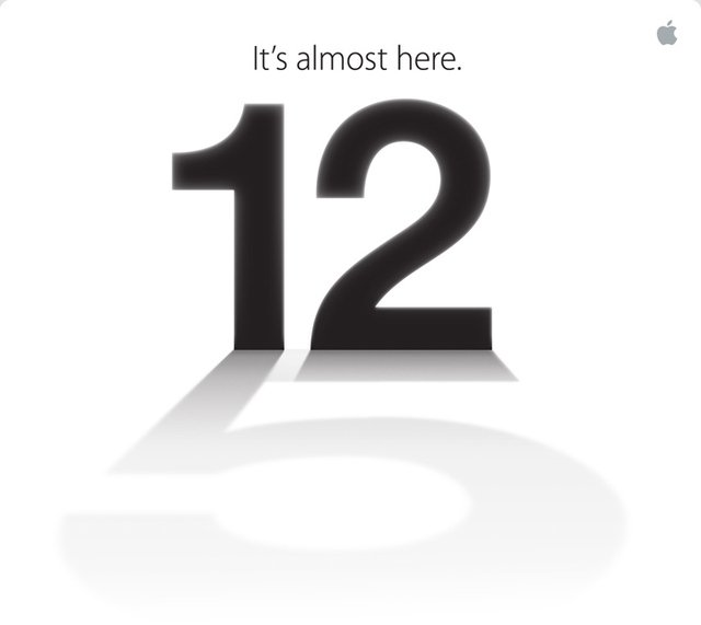 Endliche ist sis da «It's almost here» am 12. September 2012 ists soweit
