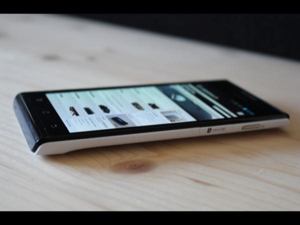 Huawei Ascend P1 - erster Eindruck und kurzer Einblick ins OS im Video