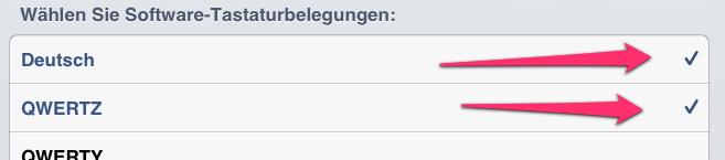 Tutorial - iOS 6 Umlaute deaktivieren