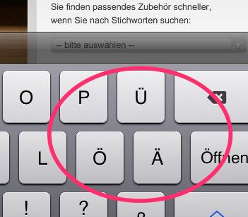 Tutorial – iOS 6 Umlaute deaktivieren