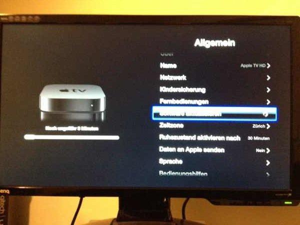 Update Apple TV Version 5.1