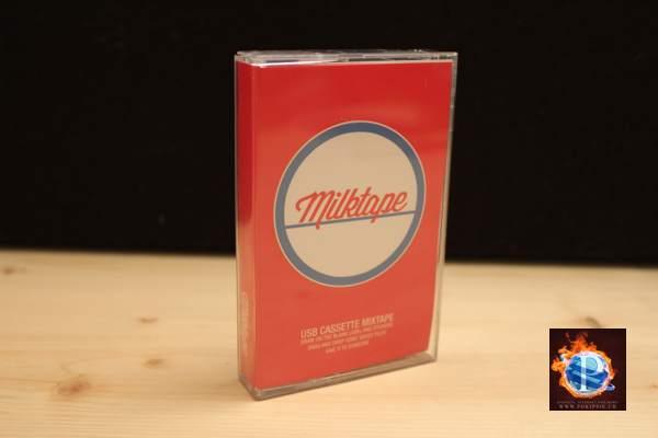 Milktape – USB Cassette Mixtape – Retro Gadget
