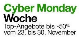 Amazon - Cyber Monday Woche vom 23. bis zum 30 November 2012