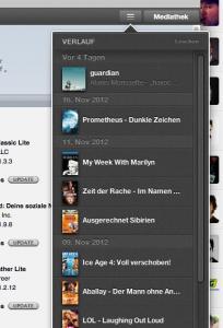 iTunes 11 History