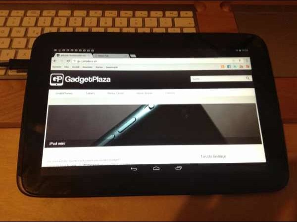 Google Nexus 10 ist angekommen – Kurzvideo