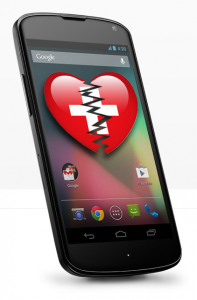 Online Petition «Nexus 4 von LG»gehört in die Schweiz