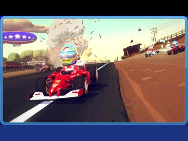 XBox «F1 Race Stars» ein Testbericht