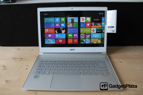 Acer Aspire S7 – Ultrabook mit Windows 8 im Test #pgw8