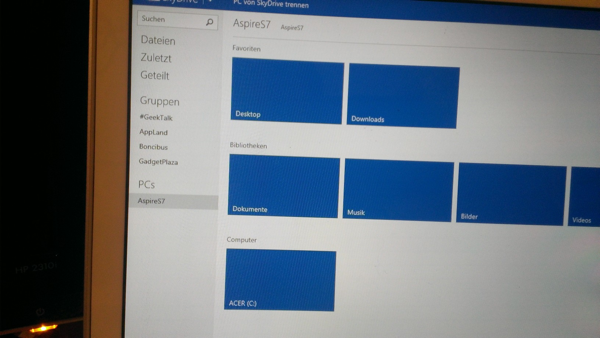 Windows Phone 8 Experiment - SkyDrive