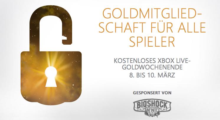 Einmal «XBox Live» zum mitnehmen - 08. bis 10. März kostenlos antesten
