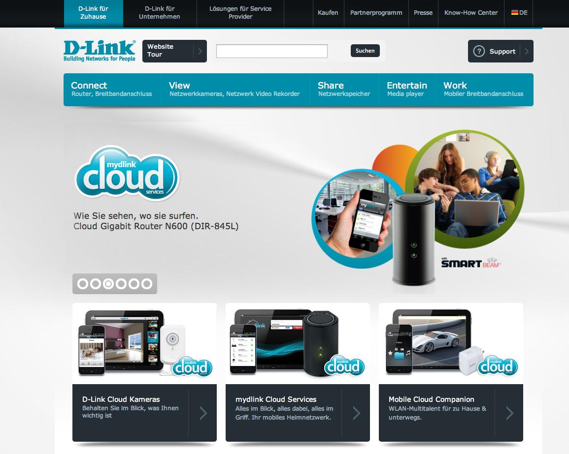 D-Link im neuen Gewand #iLike
