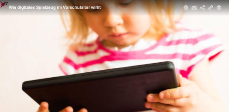 «Stern TV»Beitrag über Kinder Apps und deren Sinn