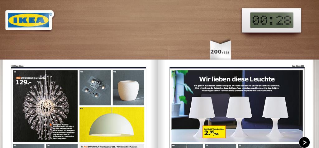 Neuer IKEA Katalog jetzt schon - begrenzt anschauen