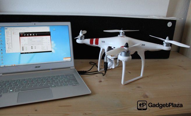 DJI Phantom RTF - genialer Quadcopter mit GoPro Anbindung