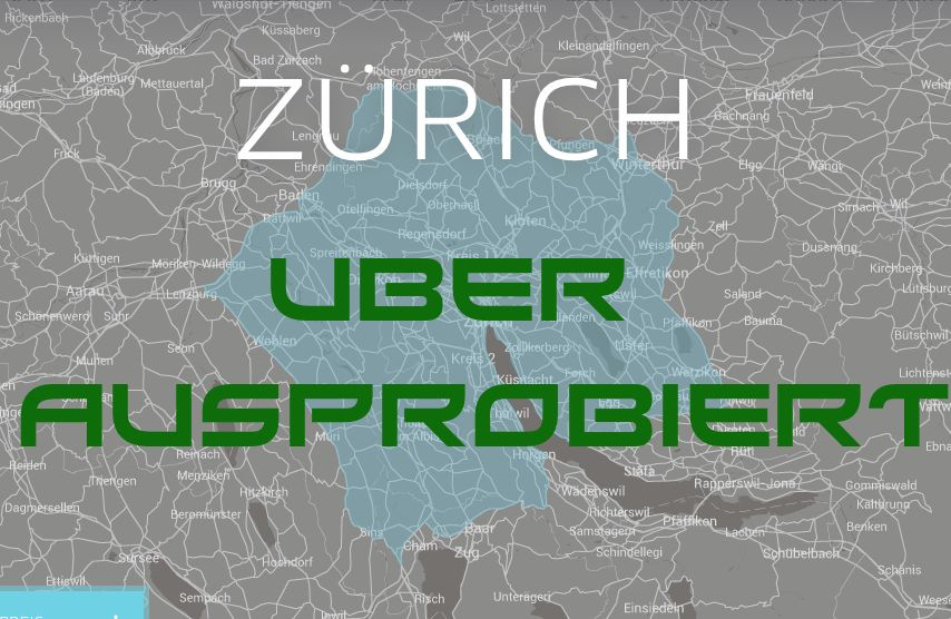Uber Test in Zürich
