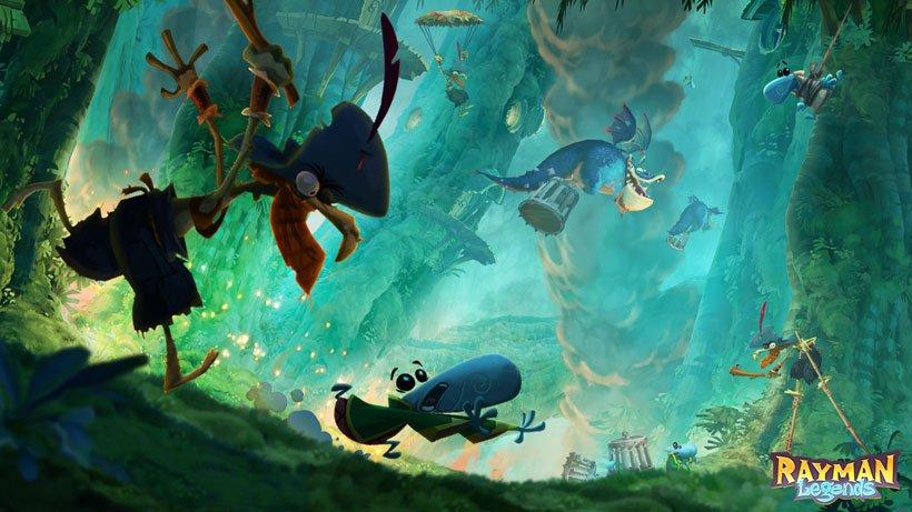 Wii U «Rayman Legends» ein Testbericht