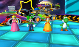 3DS - Mario Party Island Tour - Racketen-Rallye