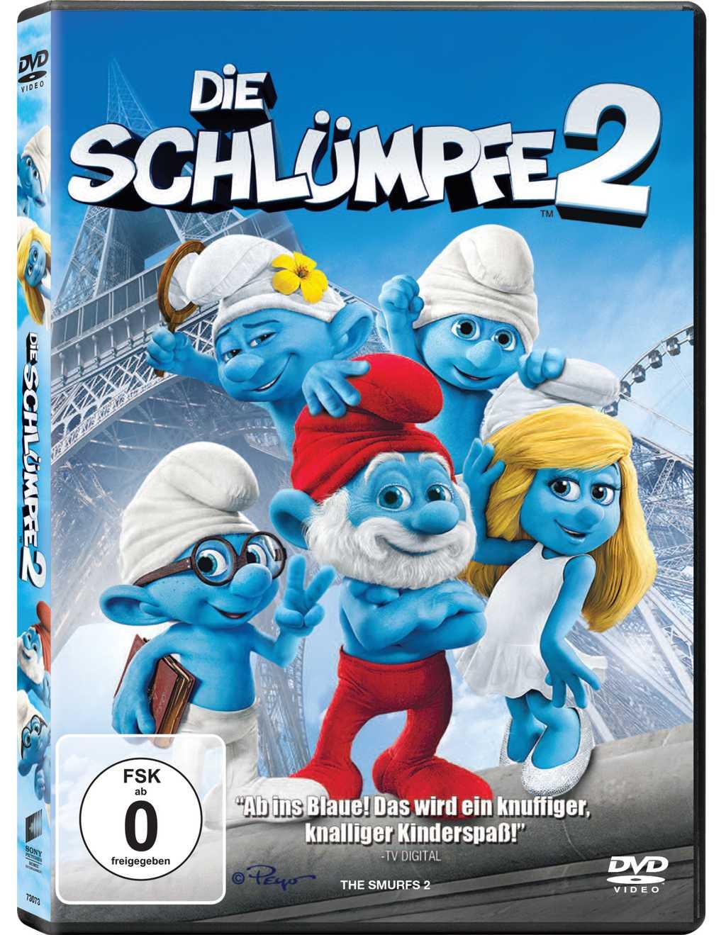 DVD «Die Schlümpfe 2» inkl. Wettbewerb