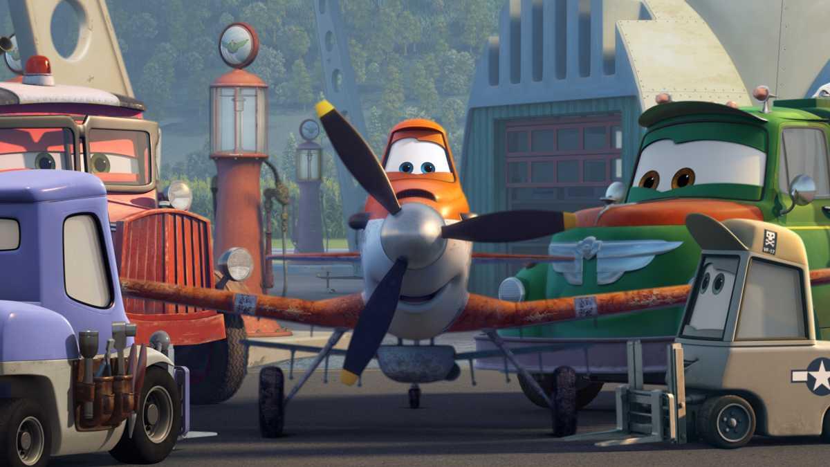 DVD «Planes» inkl. Wettbewerb