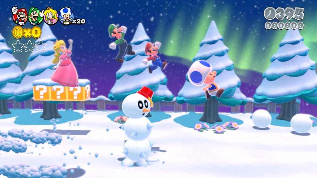Wii U «Super Mario 3D Wörld» ein Testbericht