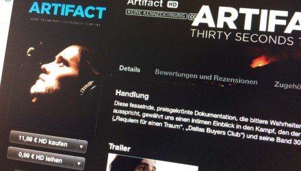 iTS Film der Woche «Artifact - Thirty Seconds to Mars»