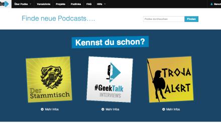 Podbe 3.0 - DAS Podcast Verzeichnis bekommt ein Update
